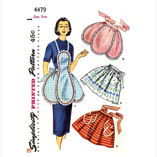 Simplicity 4479 apron pattern