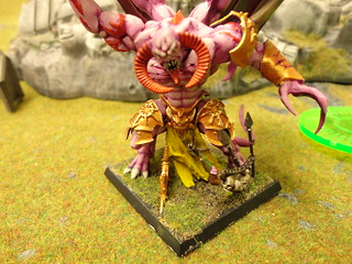 Daemon Prince of Slaanesh (Front)