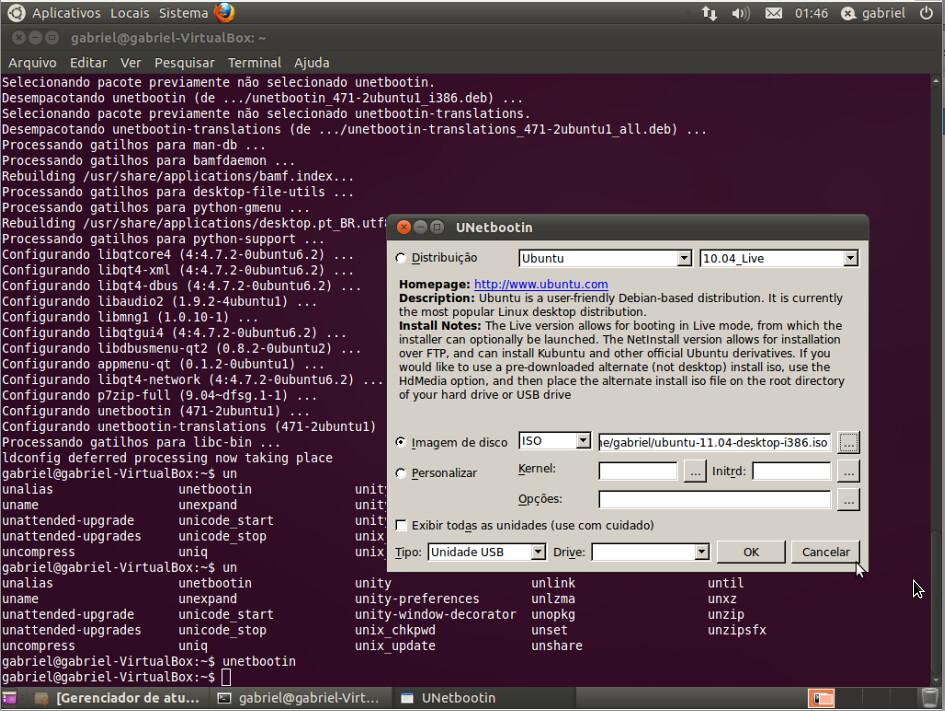 unetbootin ubuntu