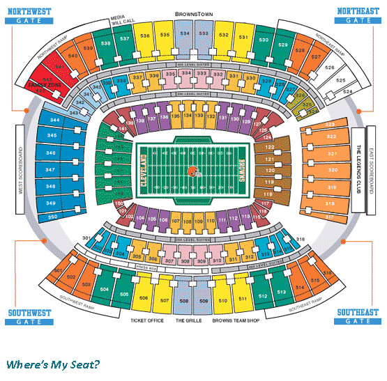 Cleveland Browns Stadium Seating Chart | Flickr - Photo Sharing!