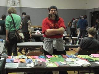 Aaron Poliwoda at Zinefest 2011