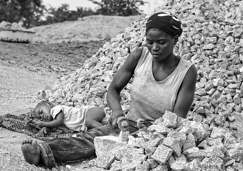 Mother and Child / Stone Crushers Women