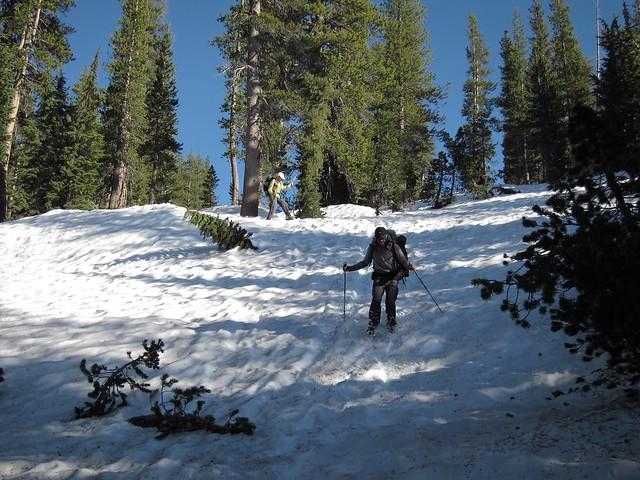 Boot skiing