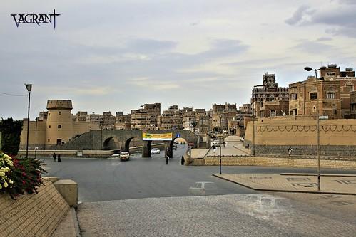 street old city houses house architecture photoshop canon eos ancient yemen sanaa hdr sana d550 blinkagain