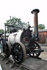 Very early steam locomotives