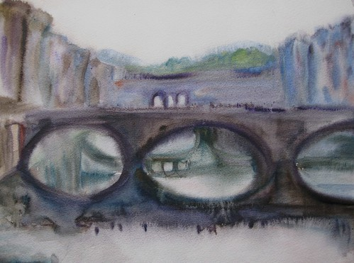 "Watercolor, 12X16"" Florence"