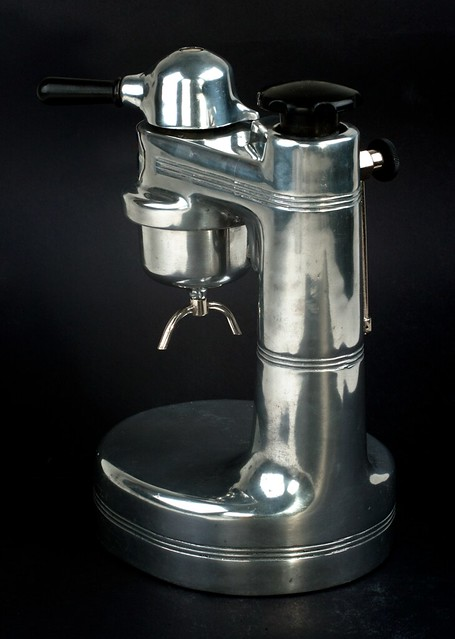 Atomic Coffee Maker Italy : Rapide Express Brevetto Torino (Italy) Atomic Type Coffee Maker Flickr - Photo Sharing!