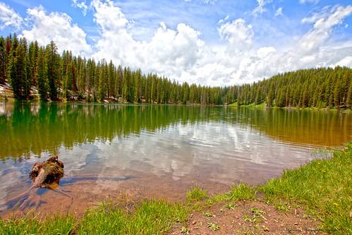 reflections colorado lakes grandmesa