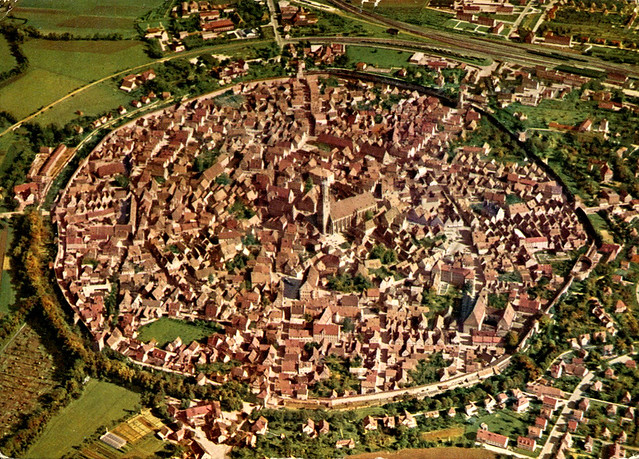 Nördlingen - Air View (Postcard)