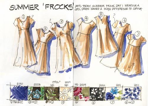 111024 Summer Frocks