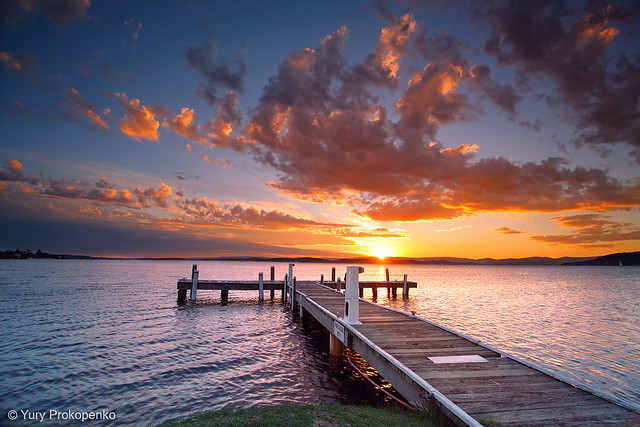 Sunset @ Lake Macquarie