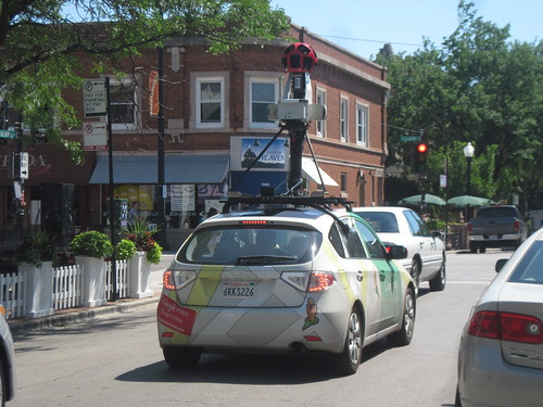 the (not so) mysterious Google Street View car
