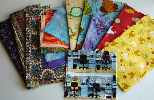 Stashtacular Swap Fabric Goodies