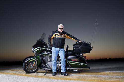 Harley Davidson Portrait
