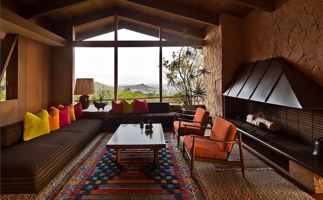 Liljestrand Residence Living Area