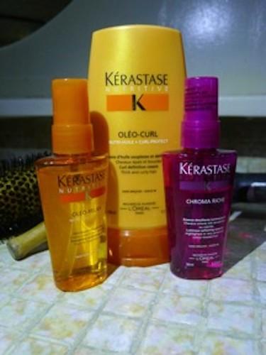 Glossy features yvette and choc religioso divasoria at for Kerastase bain miroir 2