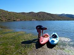 Kayaking @ Saguaro Lake, AZ