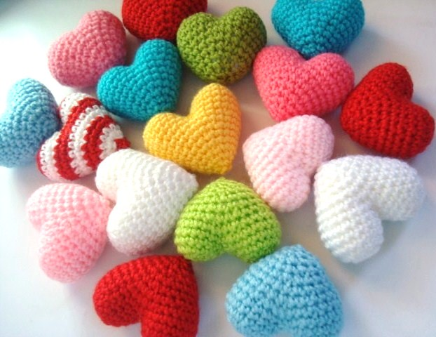 Amigurumi Heart Tutorial : Amigurumi Hearts Flickr - Photo Sharing!