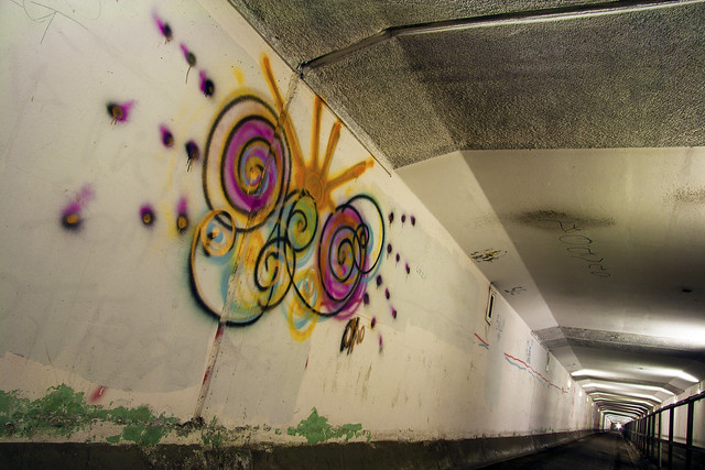 Clyde Tunnel Graffiti