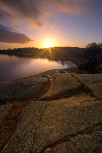 sunset island sweden gothenburg cliffs hdr archipelago amundö sigma1020mmf456exdchsm canoneos7d