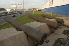 asphalt, cannon,