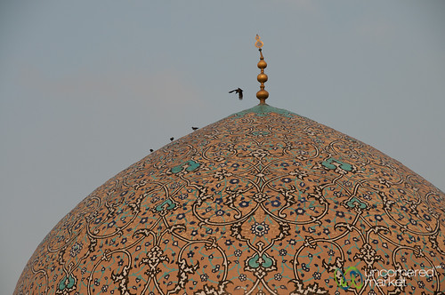 Golden Dome, Persian Design - Isfanah, Iran