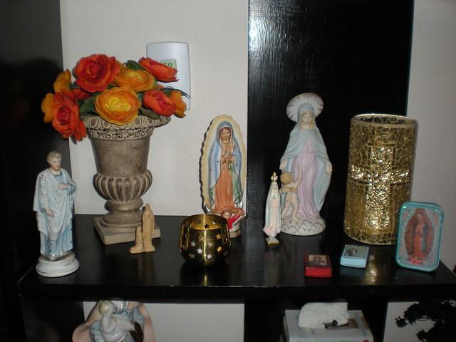mary's shelf