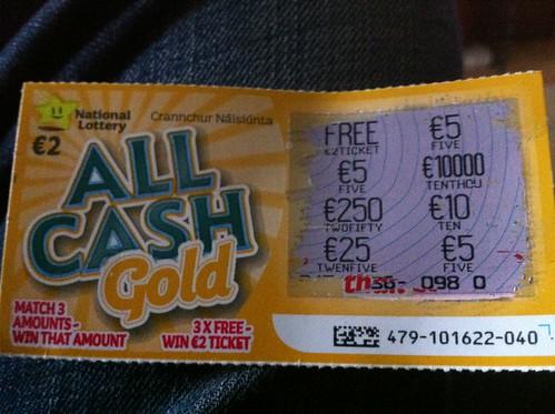 Irish National Lottery photo