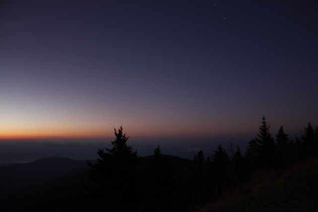 Night Sky at the Smokies