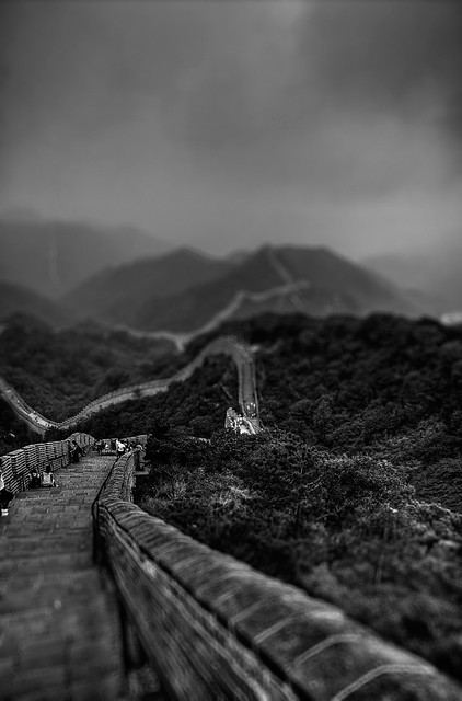 The Great Wall of China – Tilt Shift