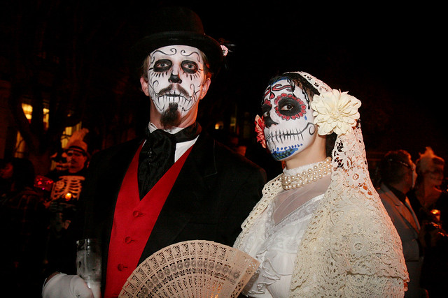 day of the dead couple - photo #8