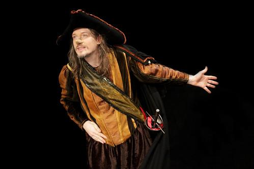 Cyrano de Bergerac au Théâtre Espace Marais, mise en scène Michel Bouttier