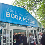 Book Festival entrance | Busy Book Festival entrance