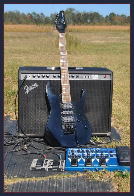 Photo:Guitar set up By Loco Steve