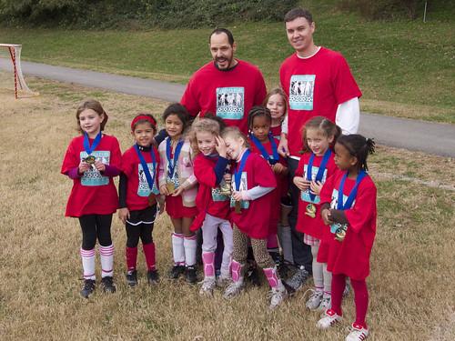 Erika's Soccer Team Fall 2011