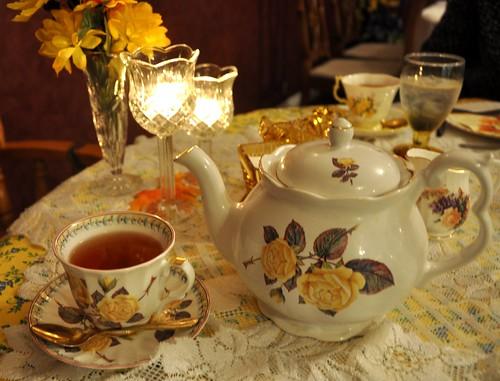 321 - Yellow Rose Tea by carolfoasia