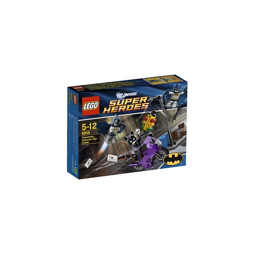 6858 Catwoman Catcycle City Chase