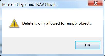 6378861511 0b090d8c98   How to Delete Obsolete Dynamics NAV Objects?