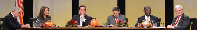 Republican Candidates at the Thanksgiving Family Forum
