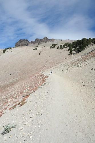 Lassen Peak へのルート