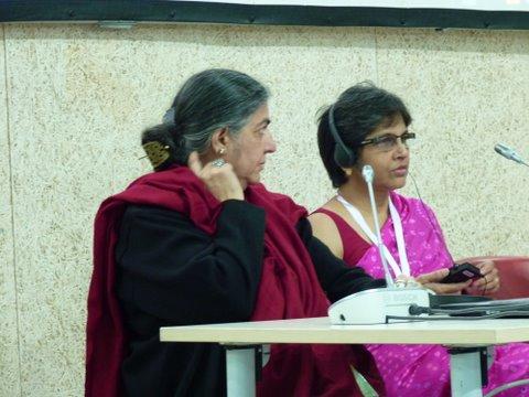 Vandana Shiva and Reetha Balsavar