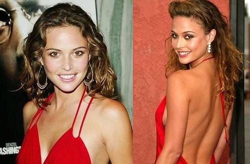 Josie-Maran-vestido-rojo-fiesta