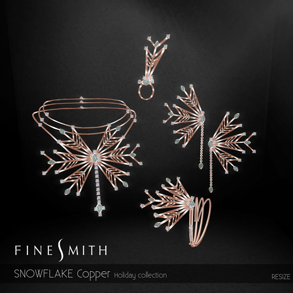 Snowflake copper