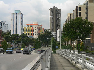 Singapore River: Clemanceau Bridge