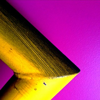 Yellow on Purple
