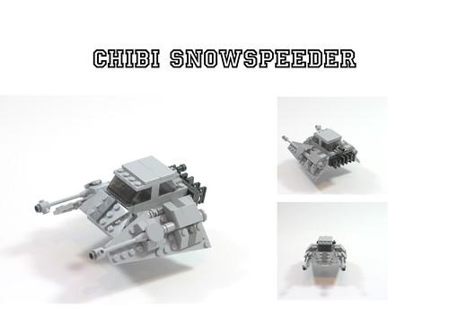 Chibi Snowspeeder