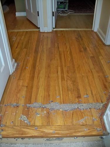 Hallway floor