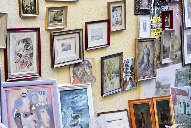 el rastro frame wall