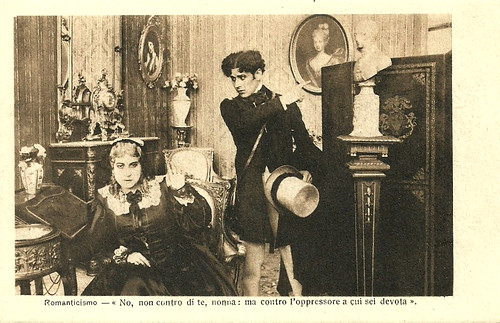 Domenico Serra and Mary Cléo Tarlarini in Romanticismo