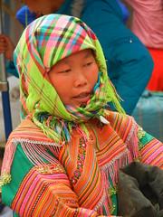 Muong Khuong Sunday Market Girl